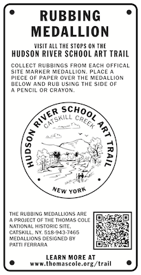 Site medallion for Catskill Creek